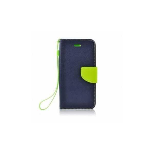 Étui portefeuille Fancy Book sur le  HTC U12+  Bleu